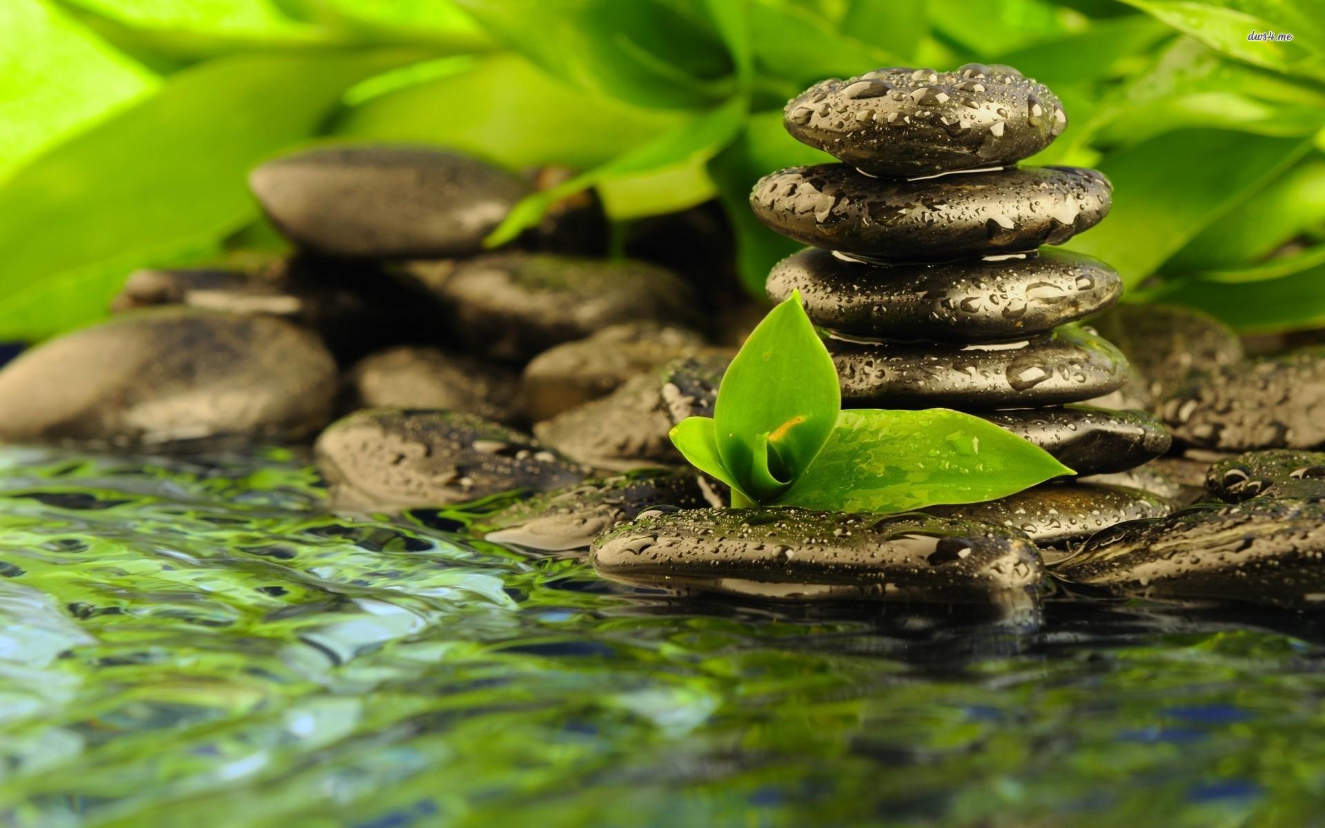 Spa Zen Stones 1920x1200