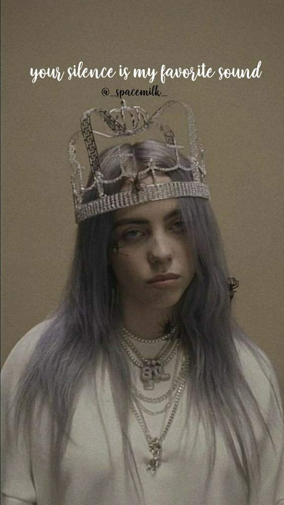 21 Billie Eilish You Should See Me In A Crown Wallpapers Wallpaper On Wallpapersafari