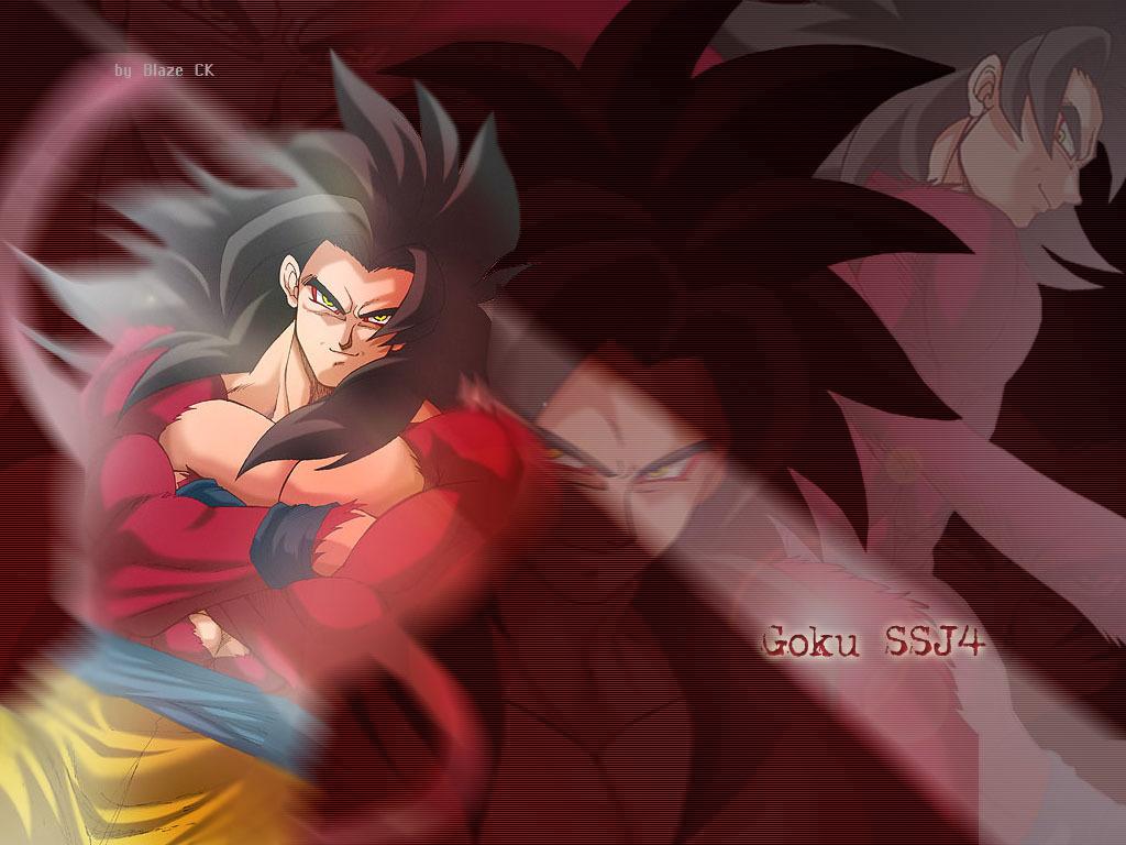 Free Download Dragon Ball Z Goku Super Saiyan 4 Wallpaper