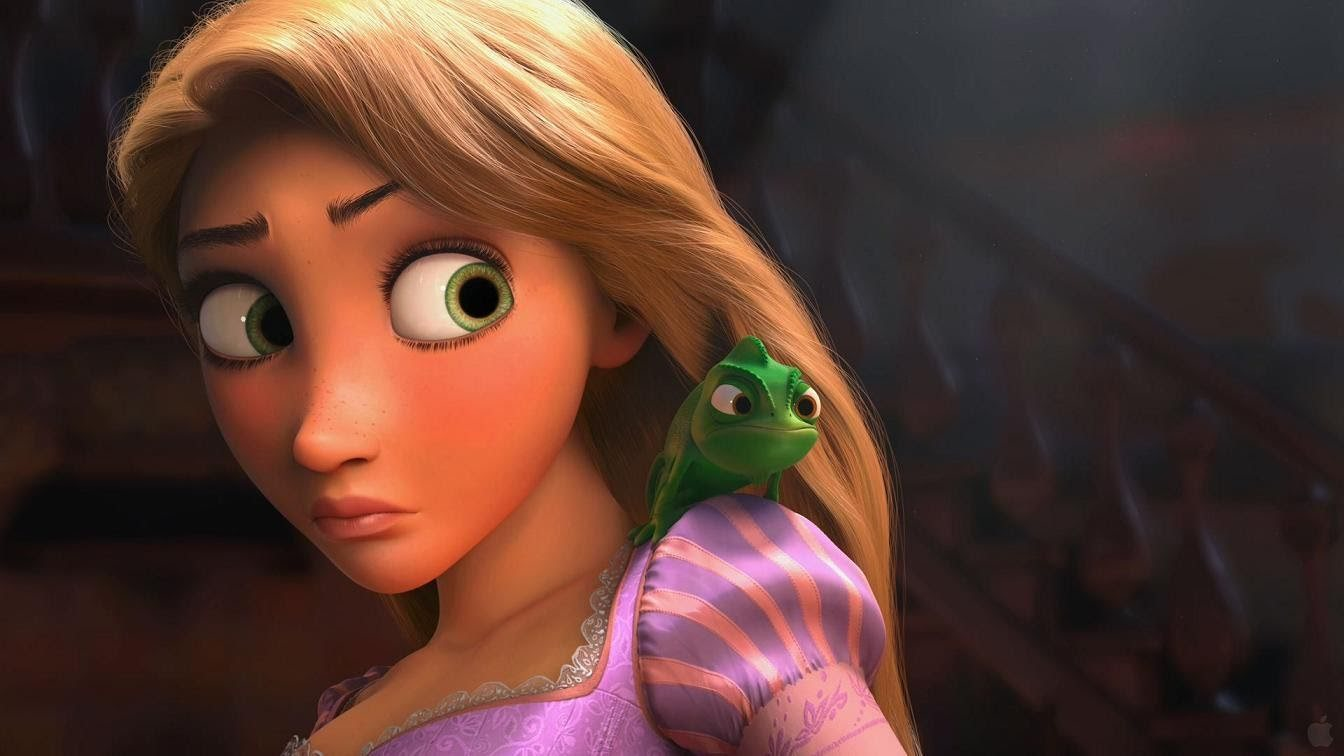Rapunzel Pascal   Disneys Rapunzel Wallpaper 18137754 1344x756