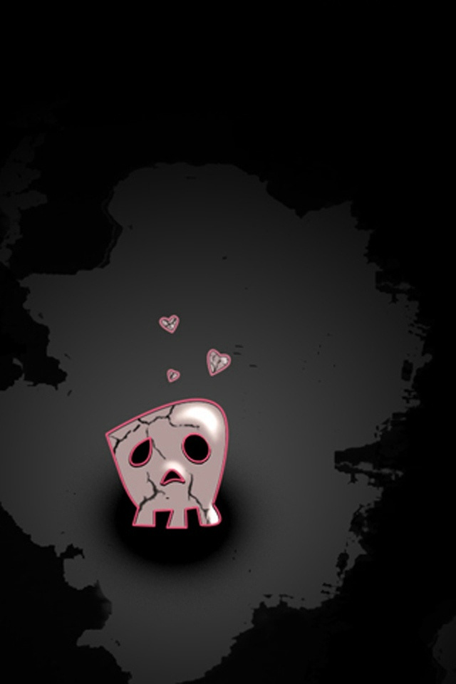 EMO Love iPhone 4 Wallpaper and iPhone 4S Wallpaper 640x960