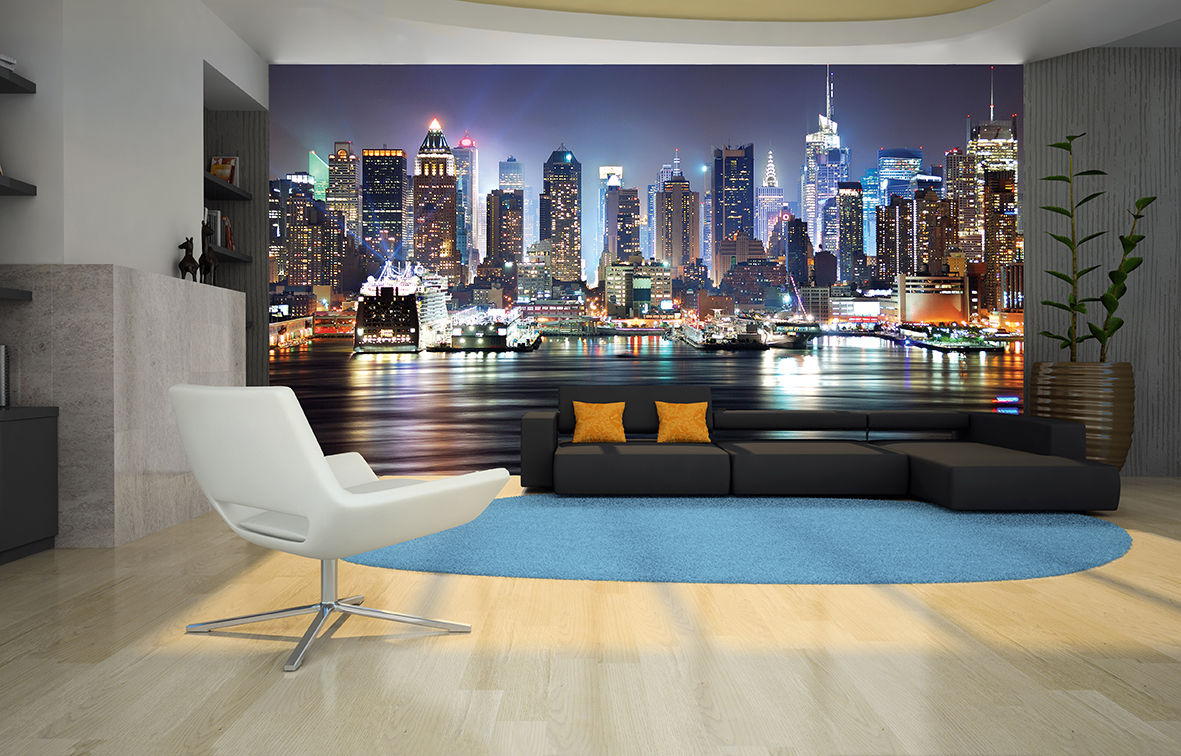 New York City Skyline Wall Mural Designer Photo WallpaperManhattan 1181x756