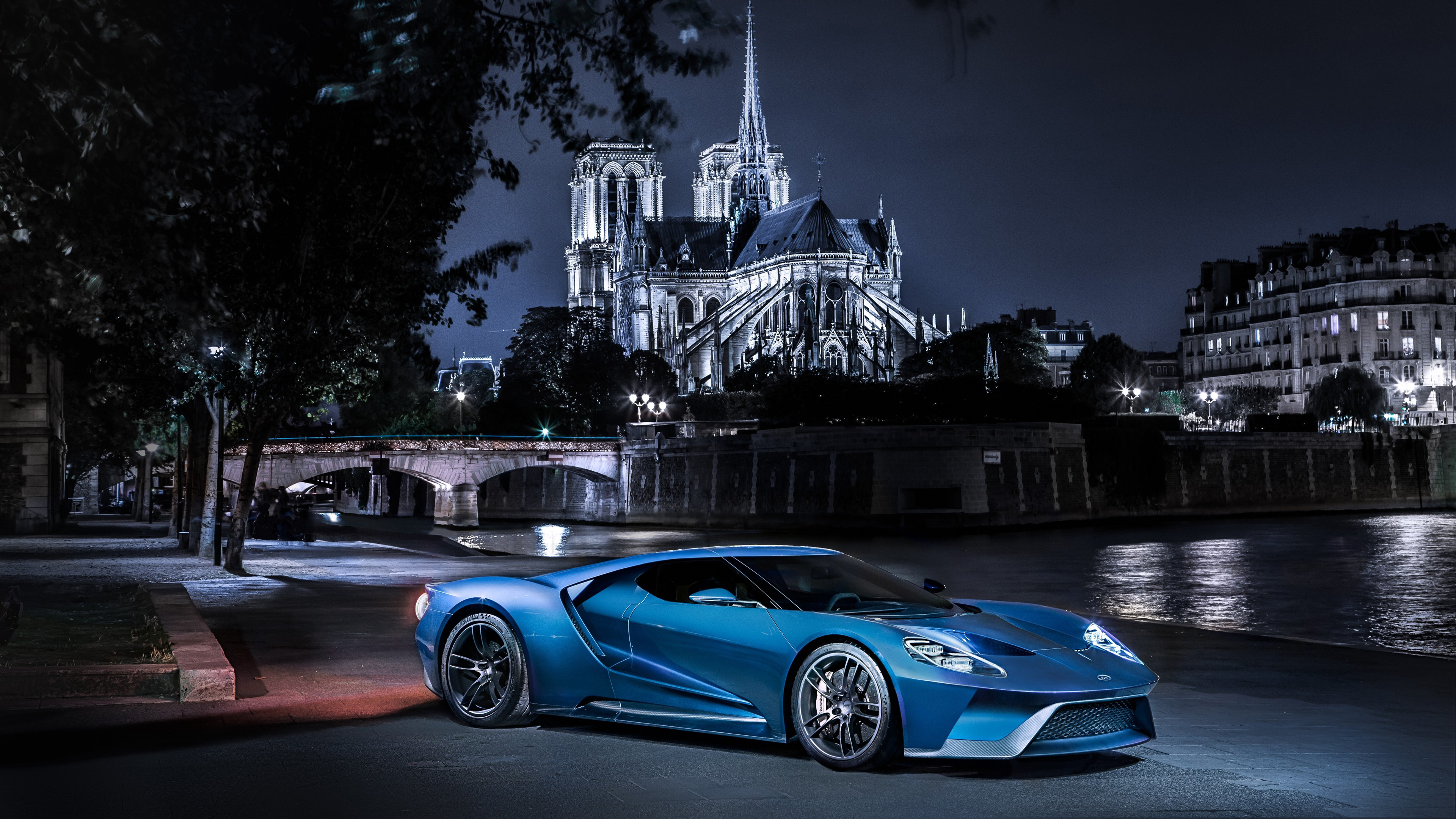 Ford GT Supercar Wallpaper HD Car Wallpapers 3840x2160
