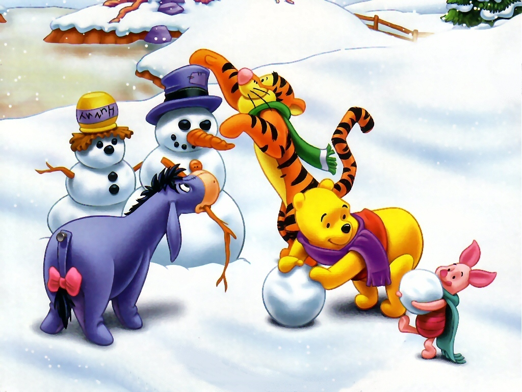 Winnie the Pooh Christmas - Christmas Wallpaper (2735516) - Fanpop