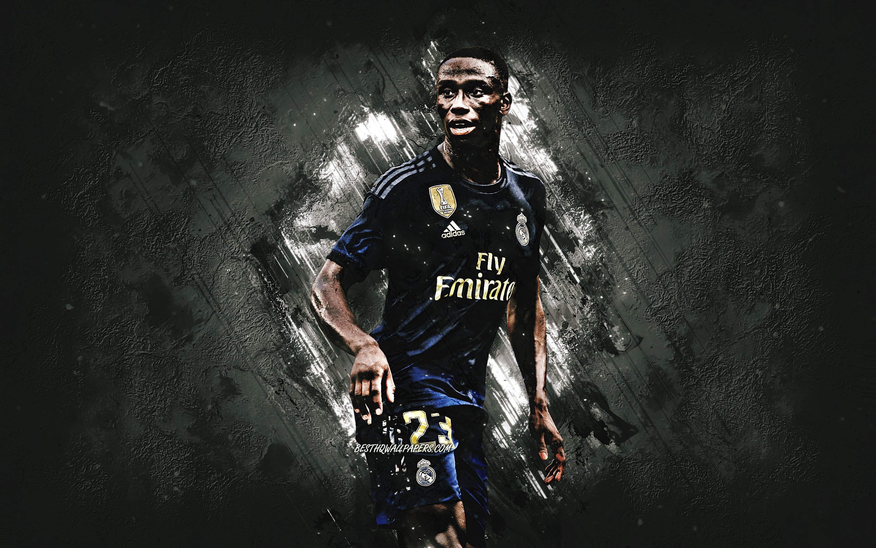 Download wallpapers Ferland Mendy Real Madrid french soccer 2880x1800