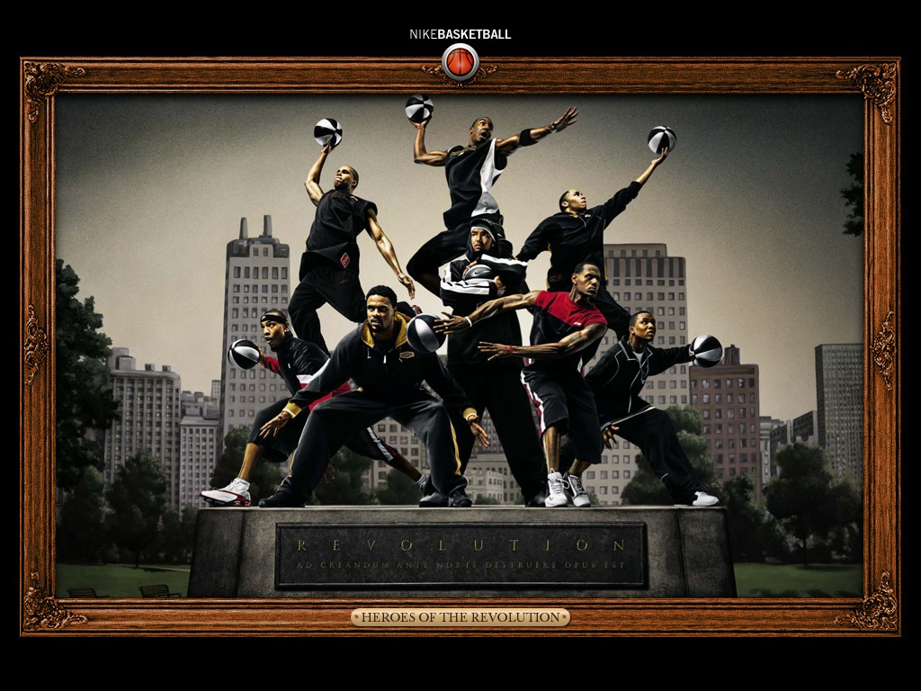 Nike Basketball 1024x768 Deportes imgenes para fondos de 1024x768