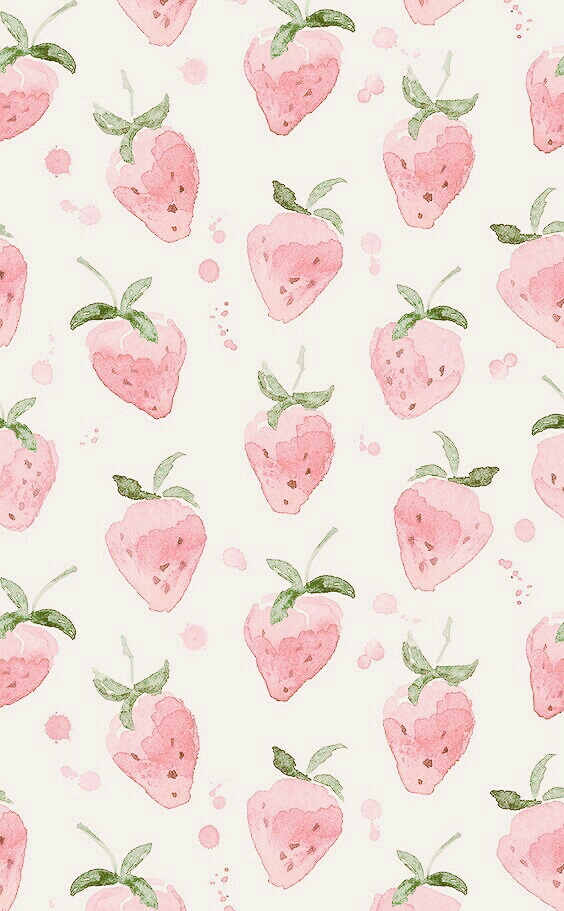 strawberry pastel and wallpapers   image 6223203 on Favimcom 564x911