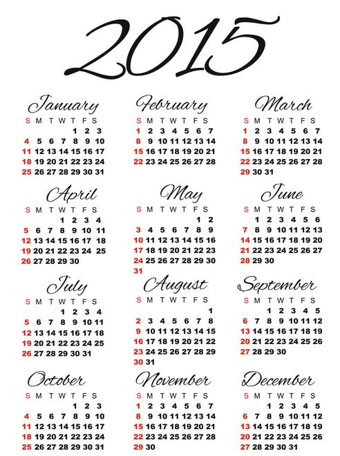 Best 2015 Calendar HD Wallpapers Download 492x660
