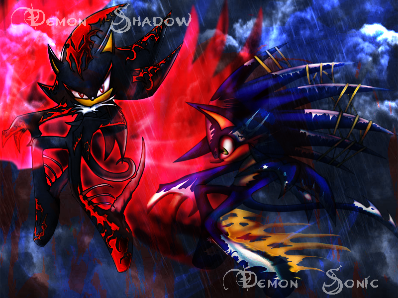 Badass Dark Sonic Wallpapers - WallpaperSafari