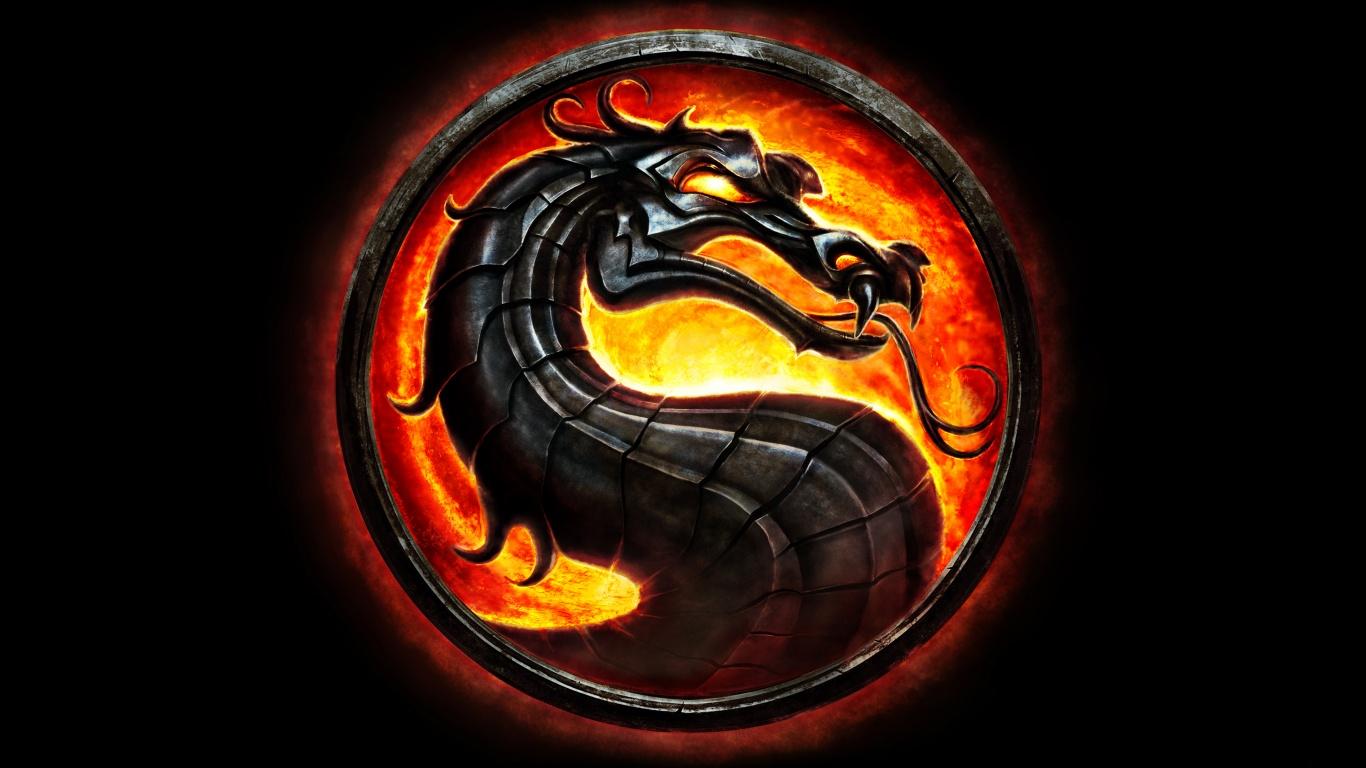 Mortal Kombat Dragon Wallpapers HD Wallpapers 1366x768