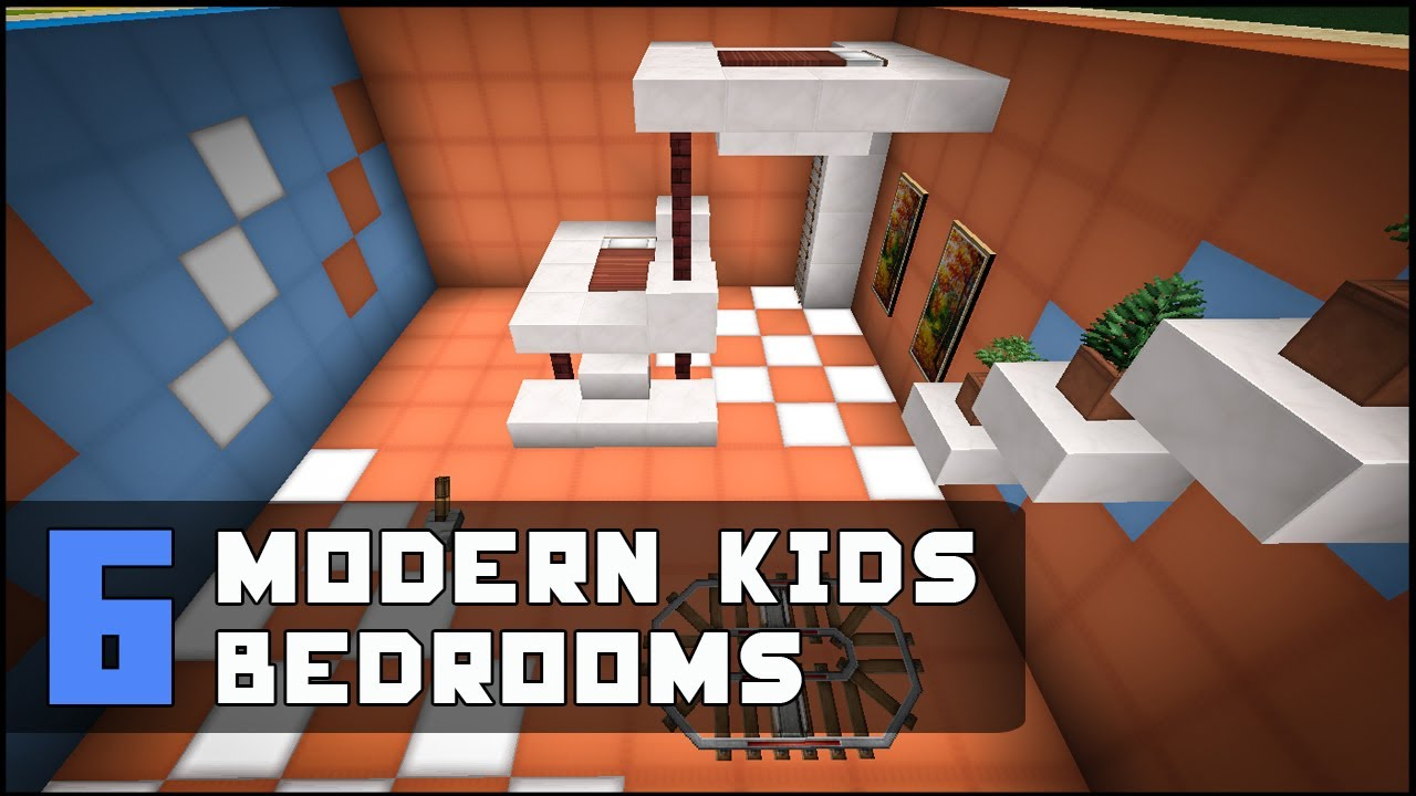Minecraft Modern Kids Bedroom Designs Ideas 1280x720