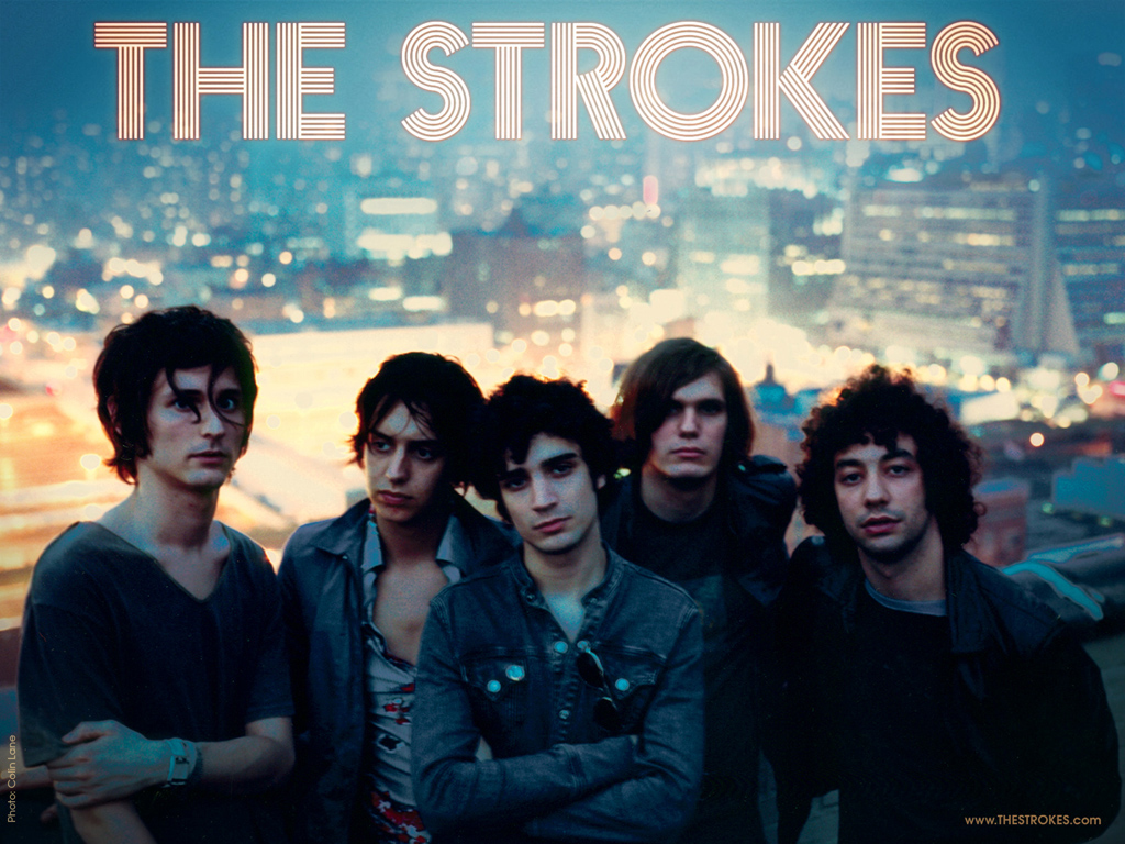 The Strokes Wallpaper   The Strokes Wallpaper 106794 1024x768