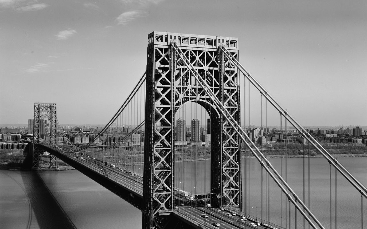 New York Wallpaper Black and White HD wallpaper background 1280x800