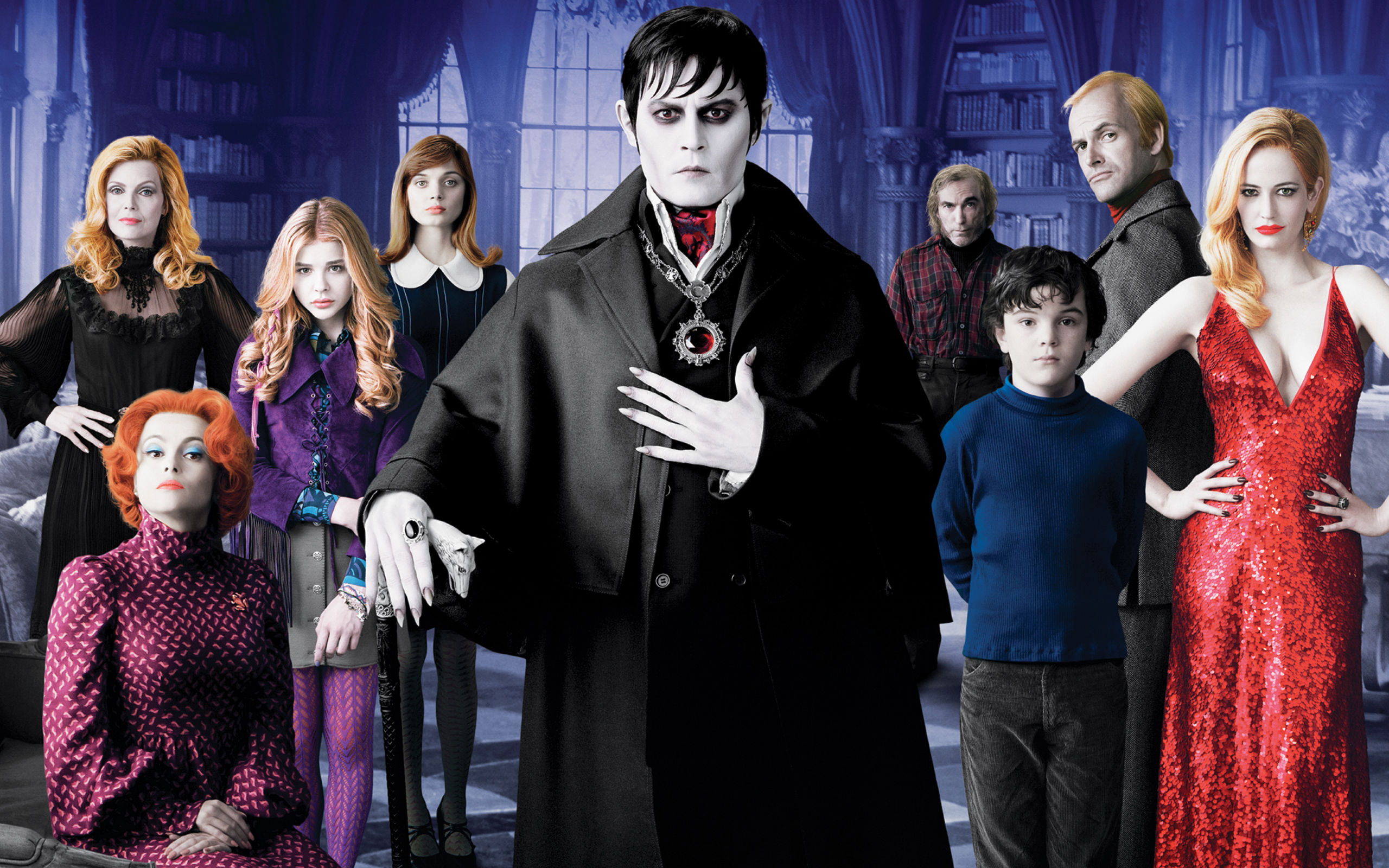 Dark Shadows Movie Wallpapers HD Wallpapers 2560x1600