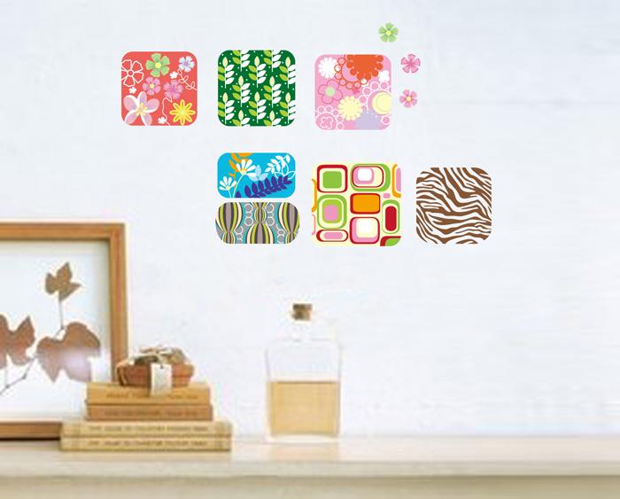 Home Flower Sticker Wall Decal Removable Art Vinyl Decor Home 700x563