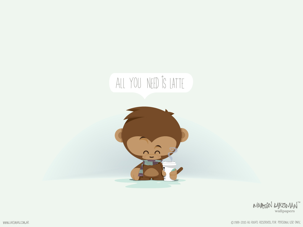 monkey cartoon wallpaper - photo #11