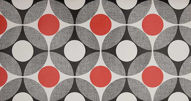 Australian Vinlon wallpaper design from the 1970s features geometric 620x330