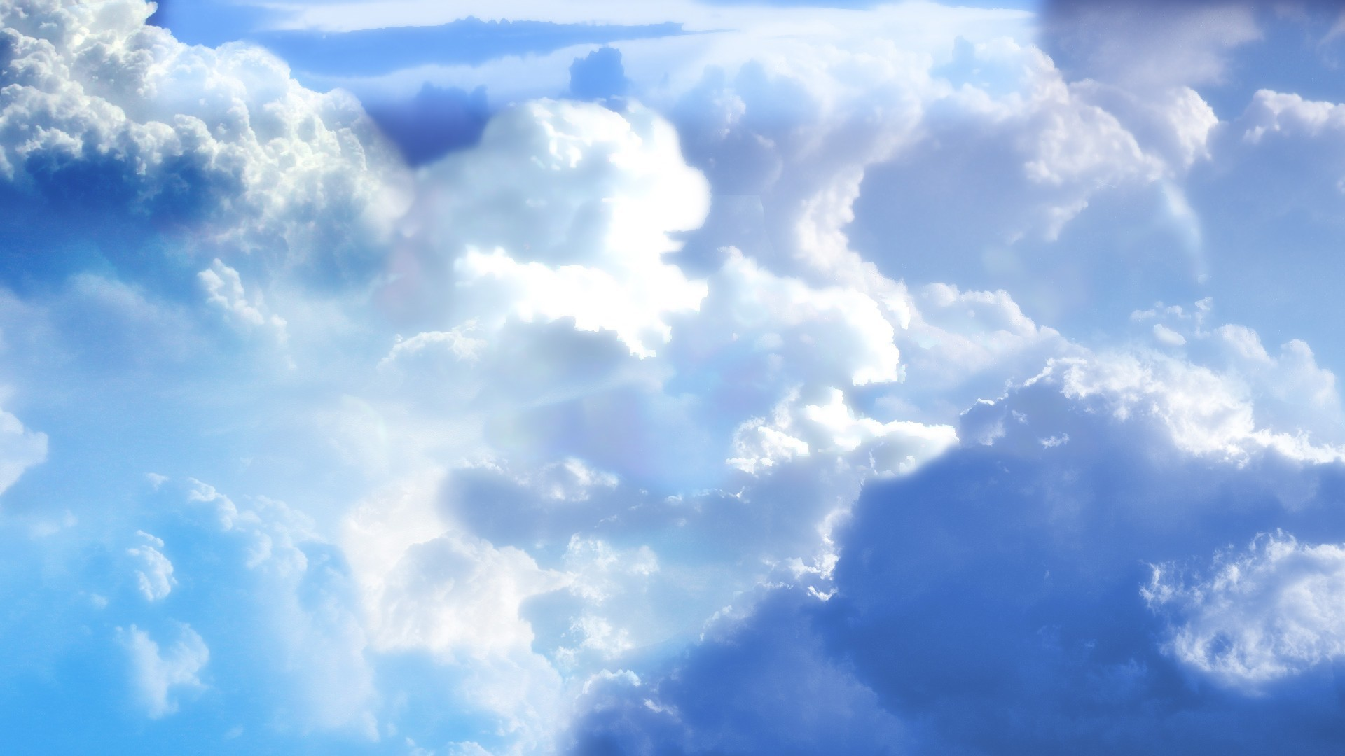 Sky and Clouds Wallpaper 1920x1080