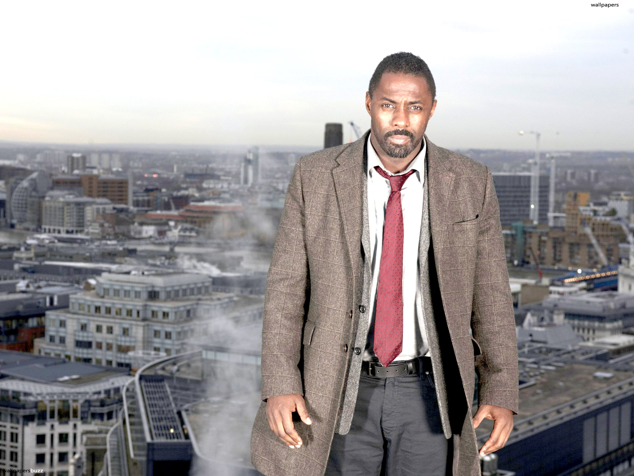 Idris Elba Suit HD Wallpaper Background Images 2560x1920