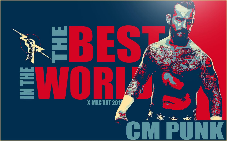 Cm Punk Wallpaper Best In The World 1440x900