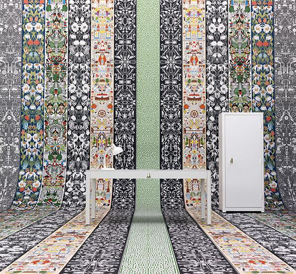 Milan Trend Placement Wallpaper 2015 interior design ideas 600x555