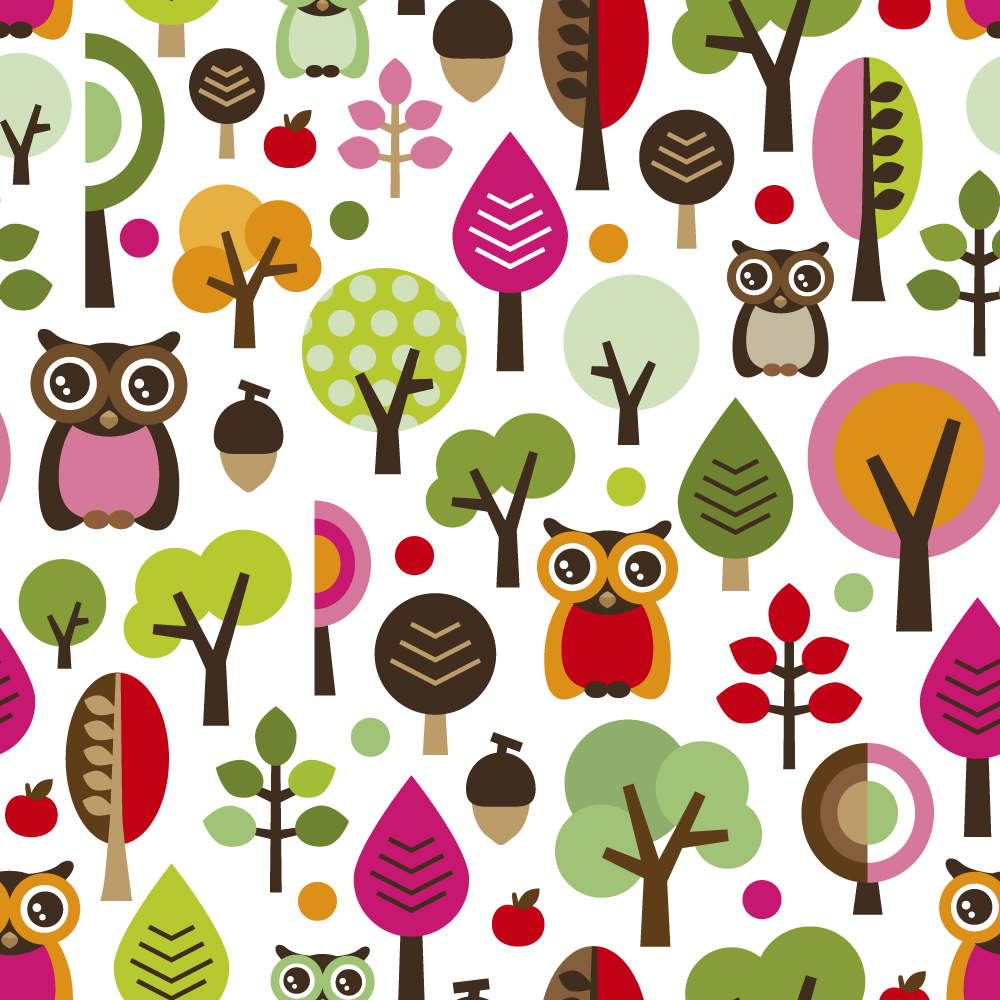 48 ] Owl Cartoon Wallpaper On WallpaperSafari