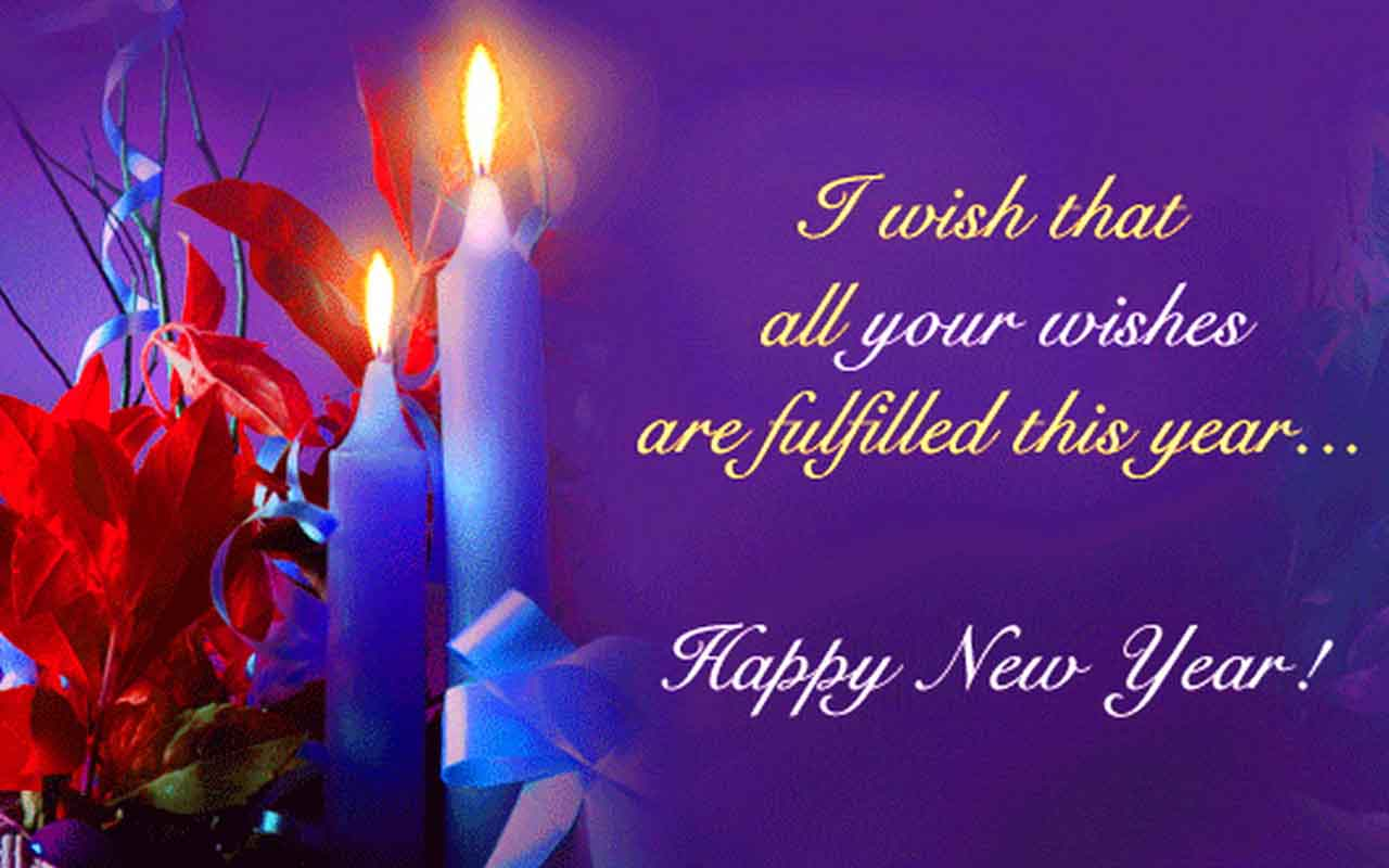 Free download Happy New Year Wishes Best Wallpapers [1280x800] for