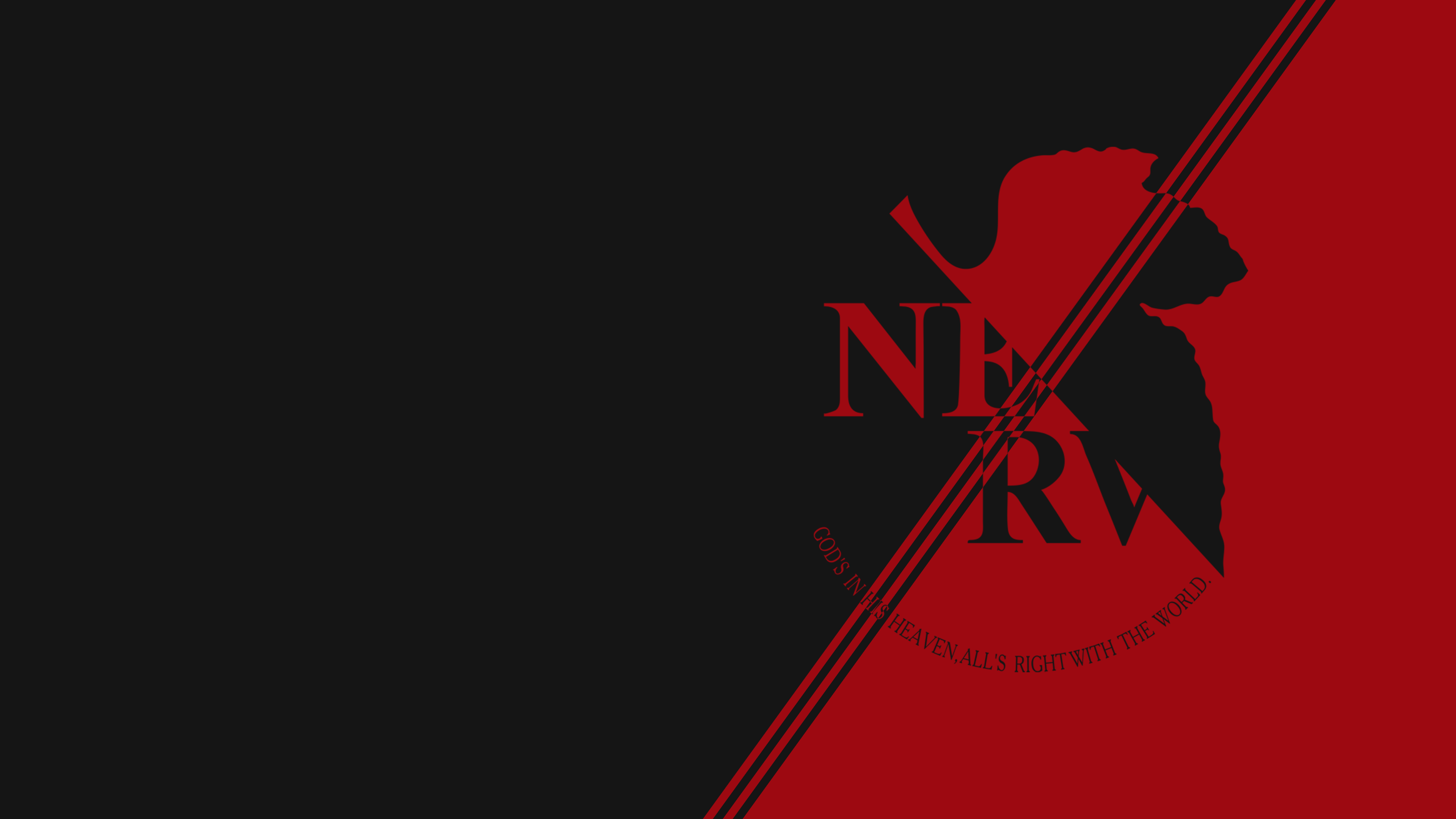 NERV Wallpapers   Top NERV Backgrounds   WallpaperAccess 3840x2160