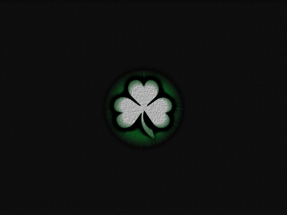 Wallpapers - Carbon Fibre Shamrock by McMasters - Customize.org