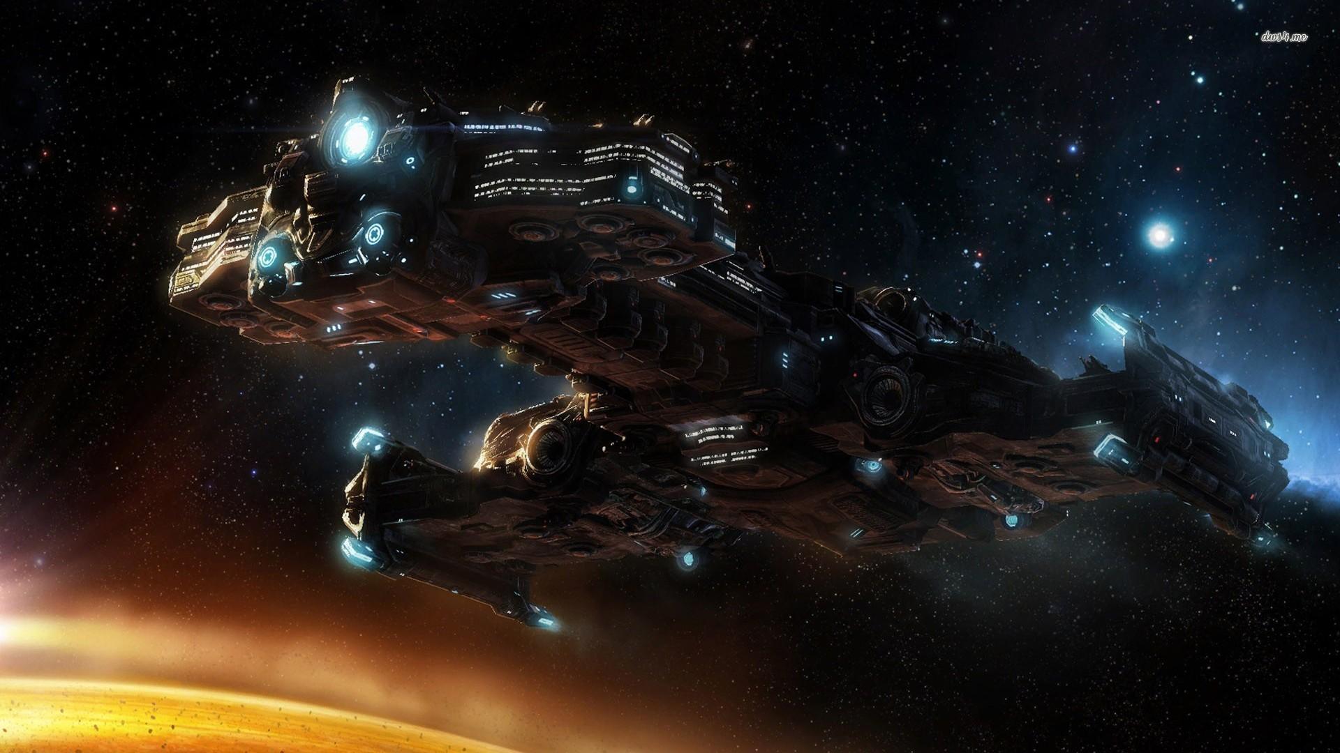 Starcraft 2 hyperion wallpaper 1920x1080 25833 1920x1080