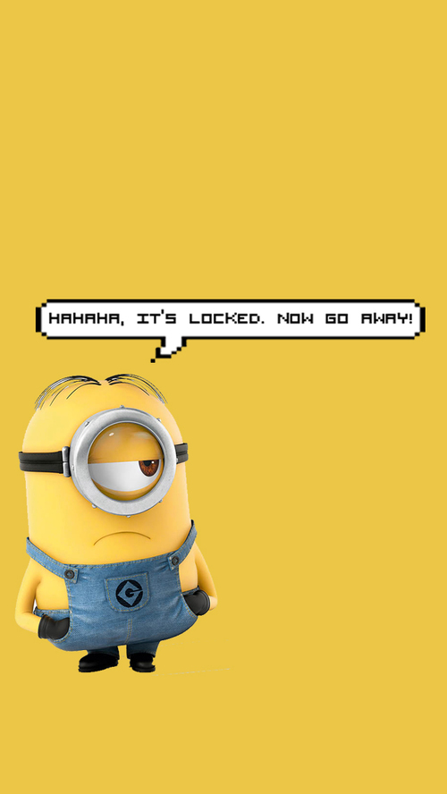 Hahaha its locked Now go away by WeirdHomosapien WHI 500x888