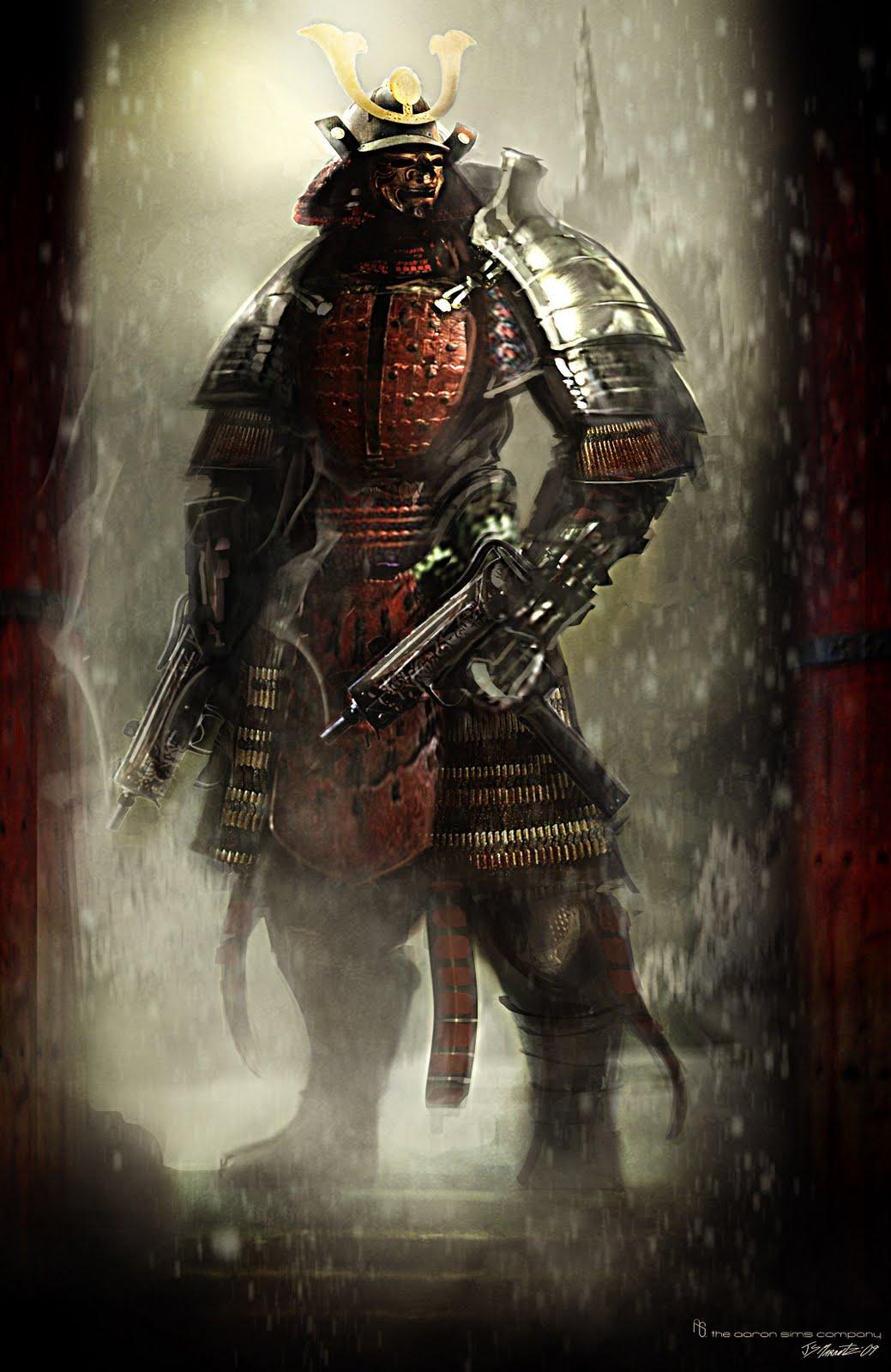 Ninja or Samurai 1039x1600
