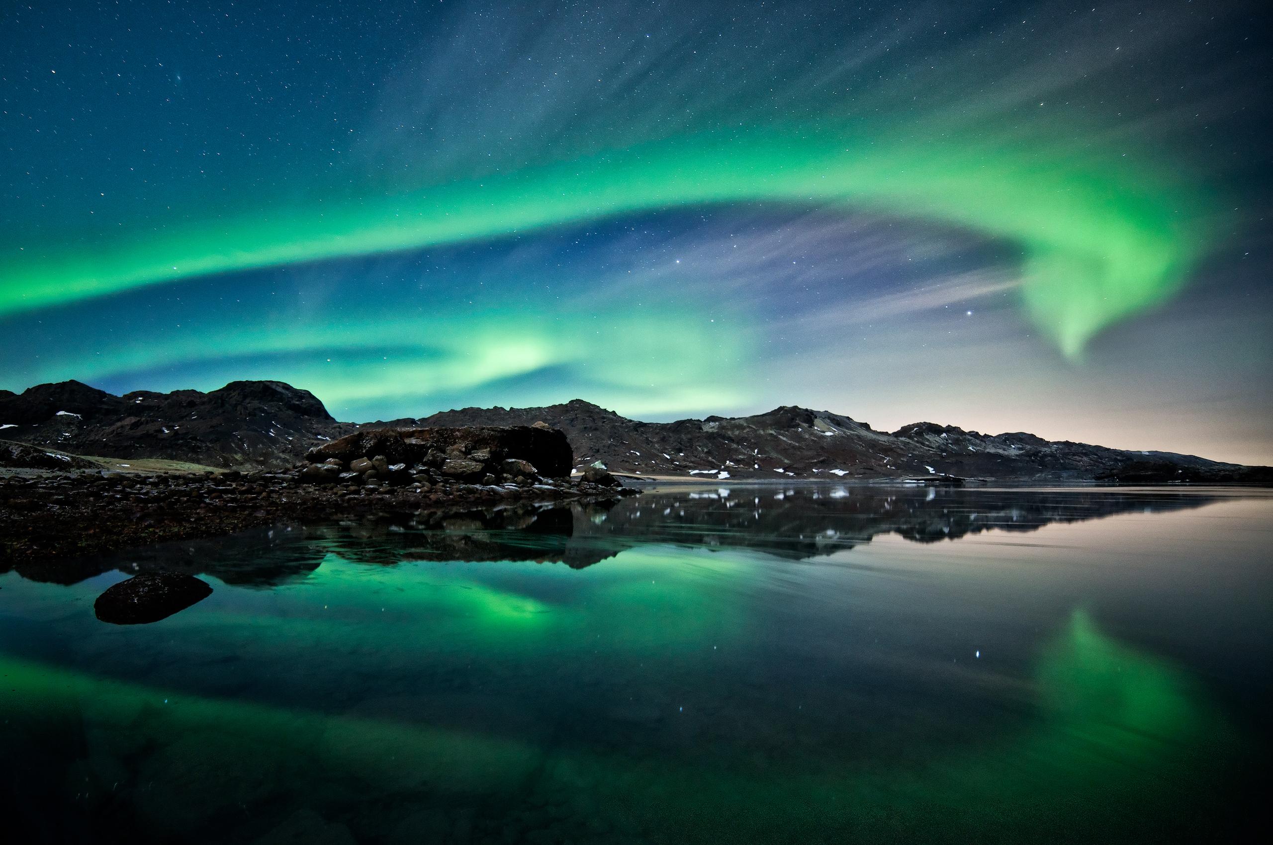 Beautiful Aurora Borealis Wallpaper