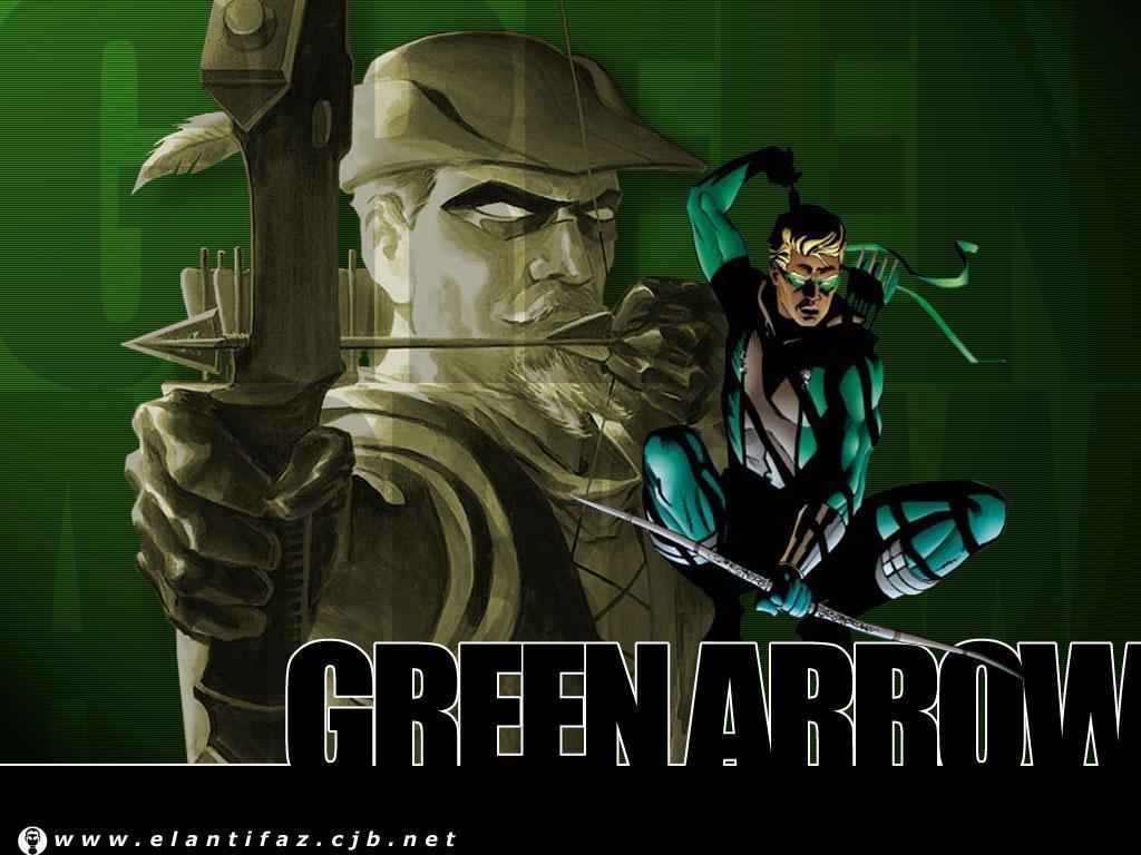 Green Arrow DC Comics Wallpaper 1024x768