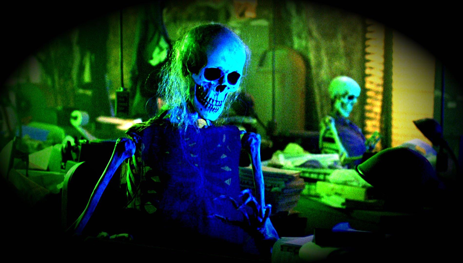 halloween skeleton wallpaper - photo #11
