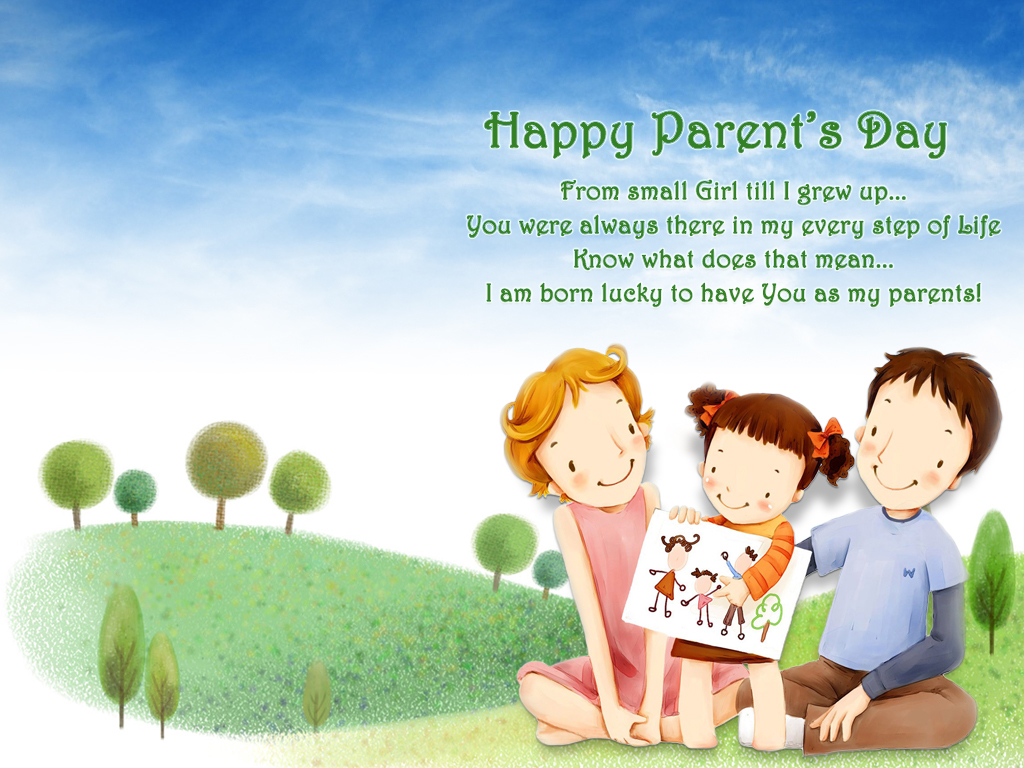 Parents Day Exclusive Wallpapers WeNeedFun 1024x768