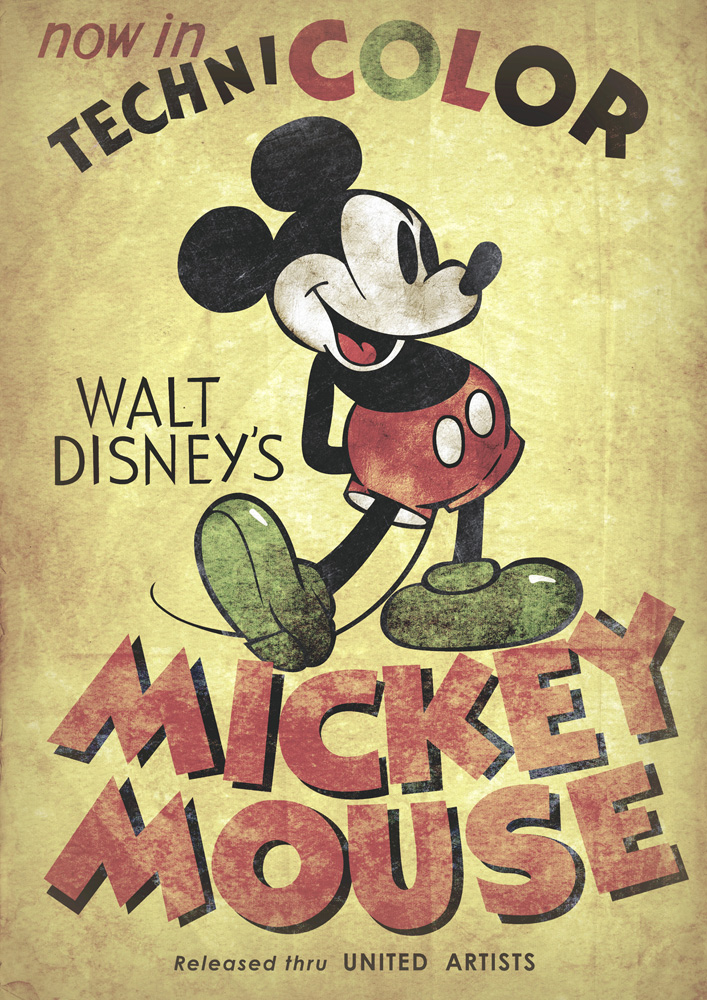 44 Vintage Mickey Mouse Wallpaper On Wallpapersafari