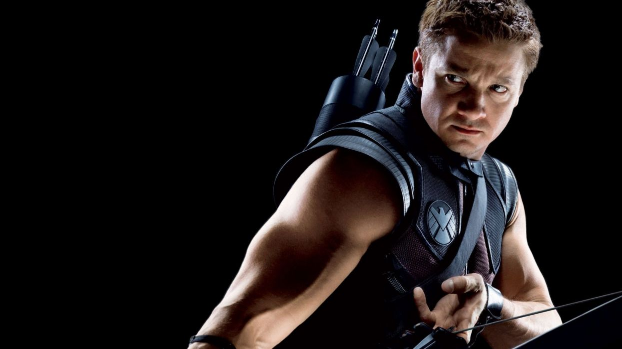 Hawkeye Clint Barton Jeremy Renner The Avengers movie black 1245x700