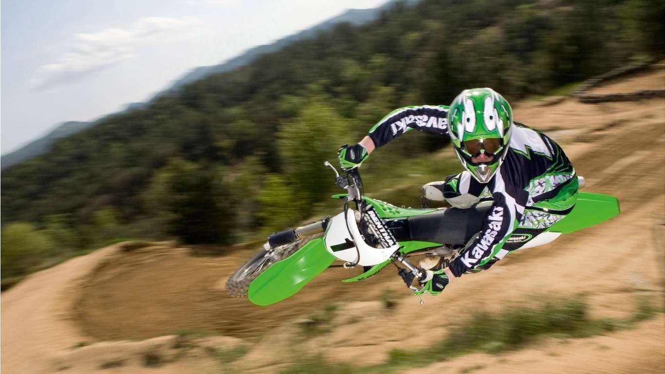 View Of Motocross Wallpaper Wallpapers Hd Car Wallpapers 1366x768