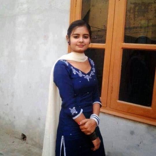 Punjabi kudi in village - 1 6