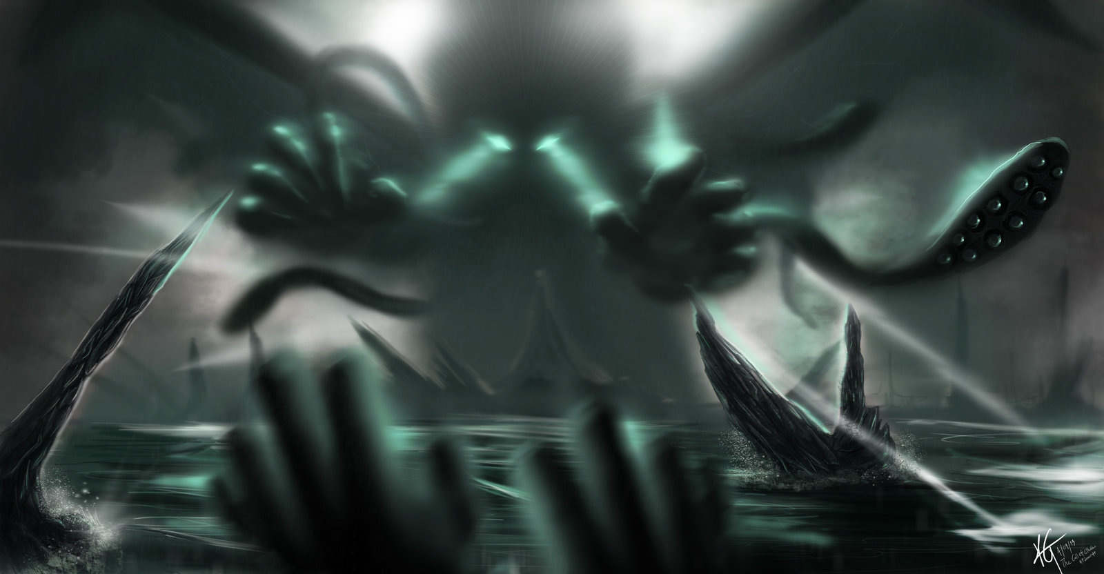 Hp Lovecraft Art Wallpapers: Call Of Cthulhu Wallpaper