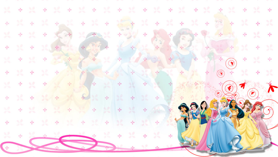 Disney Princess Background by 95MCOvercomer 900x508