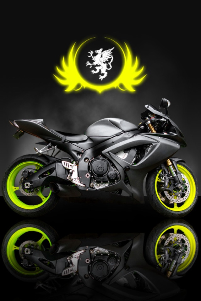 Motorbike Simply beautiful iPhone wallpapers 640x960