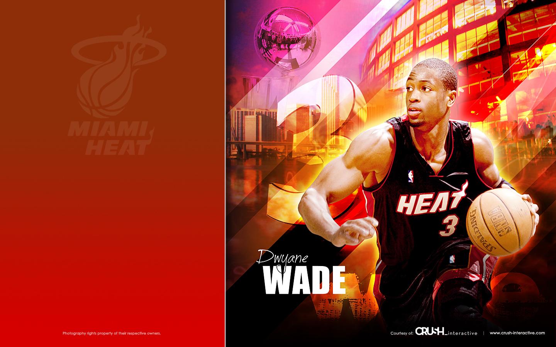 Dwyane Wade 3   Miami Heat by snapper1200 1440x900