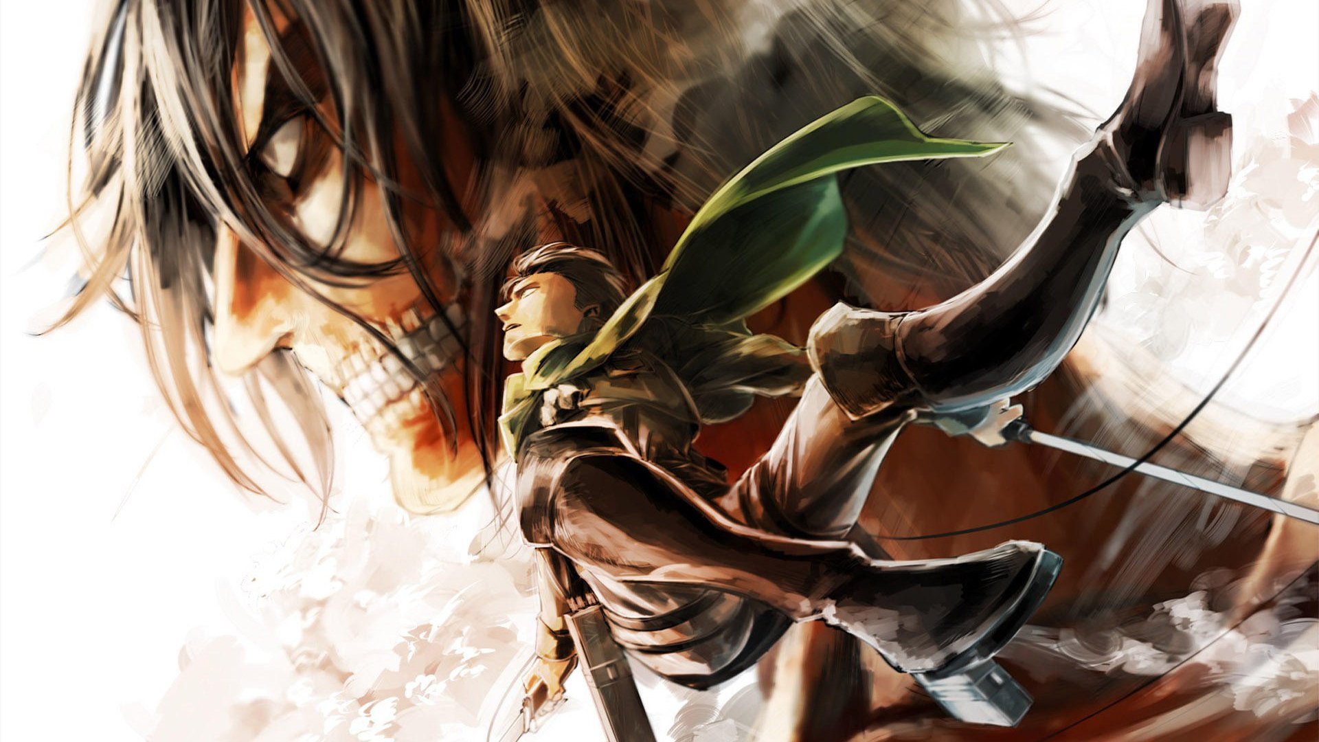 47 Attack On Titan Wallpaper 1920x1080 On Wallpapersafari