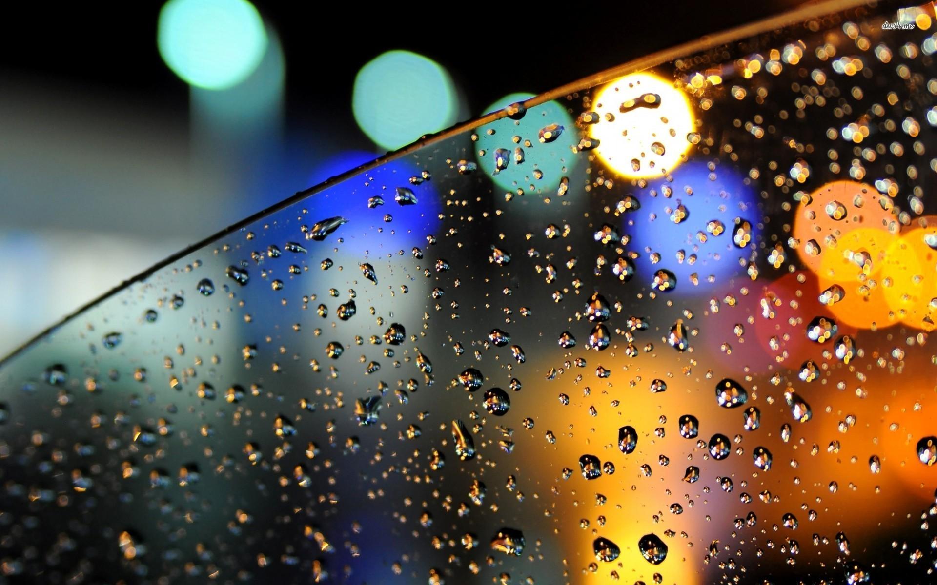 Free Download Rainy Car Window Wallpaper Photography