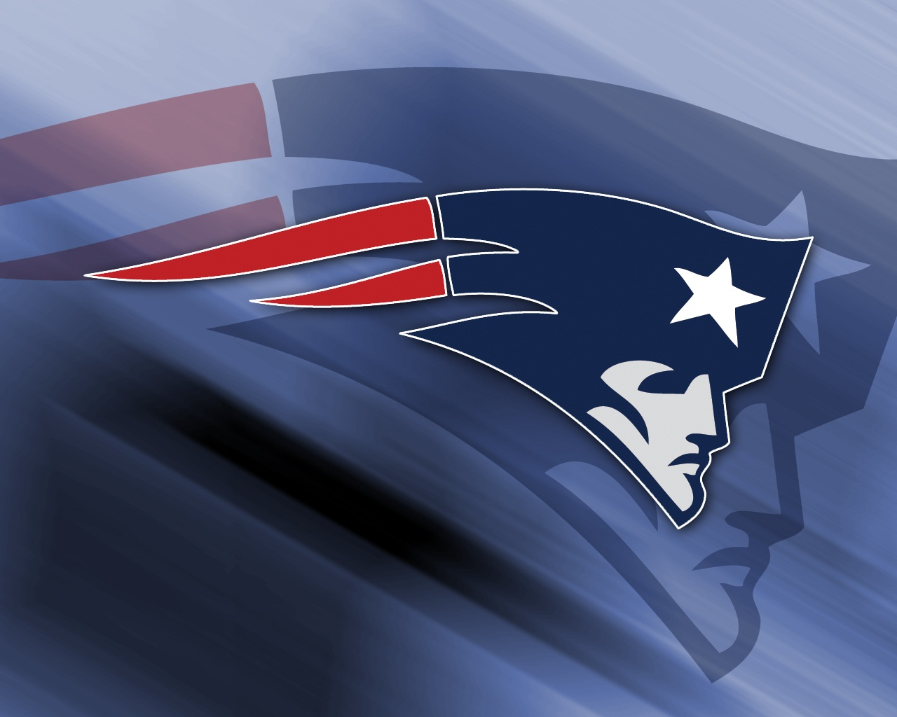 NFL New England Patriots Face Logo 1280x1024