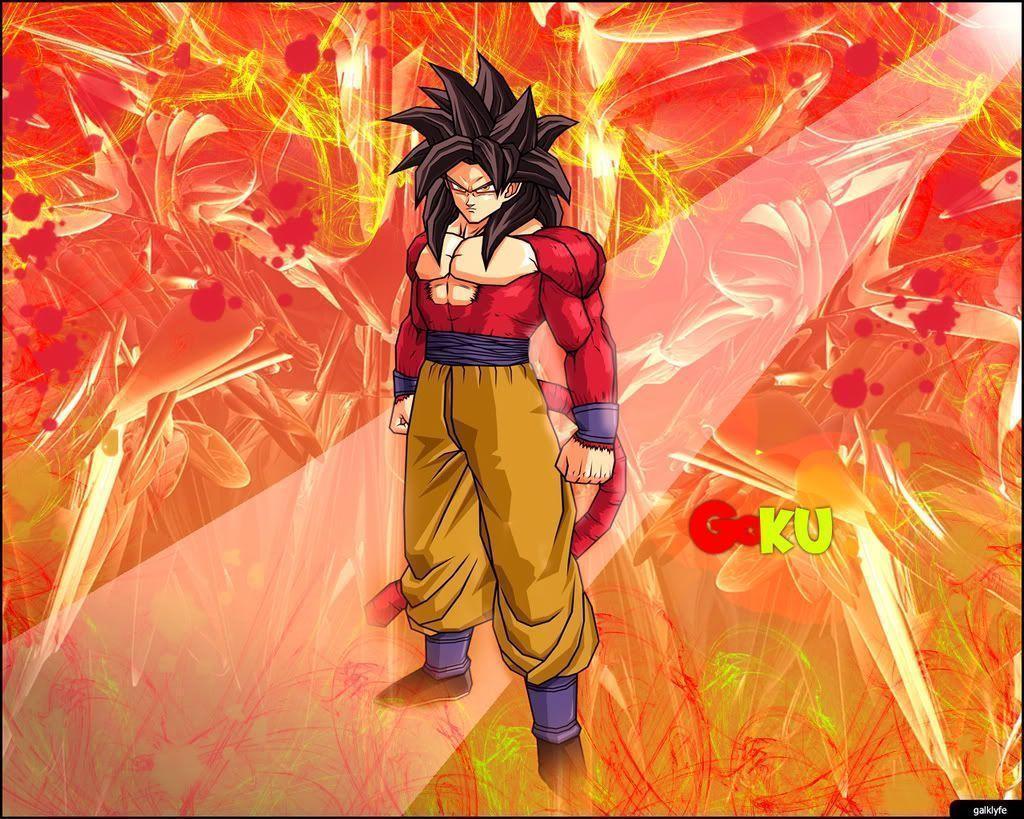 Goku SS4 Wallpapers 1024x819