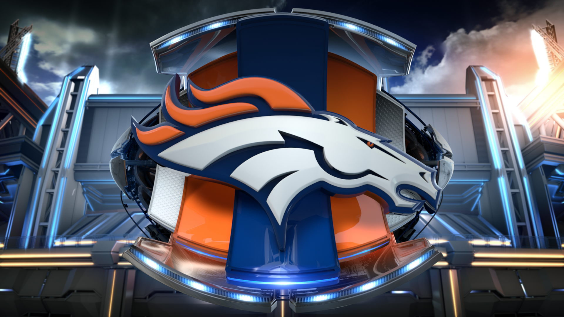 Happy Super Bowl Sunday Which Team Do You Want to Win 1920x1080