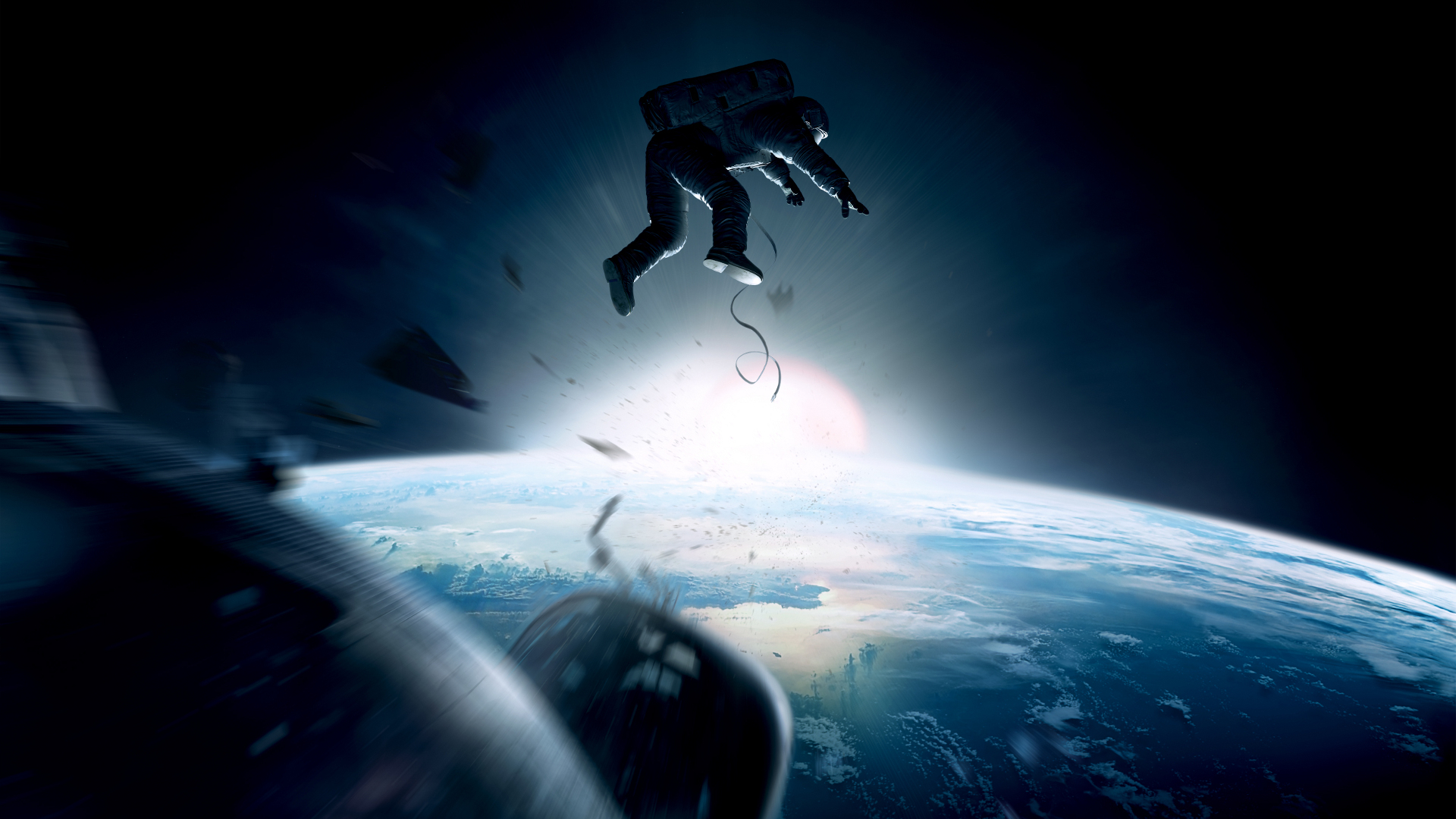 GRAVITY movie sci fi space j wallpaper background 1920x1080